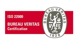 Πιστοποιήσεις - συμμετοχές Forlabels: ISO 22000