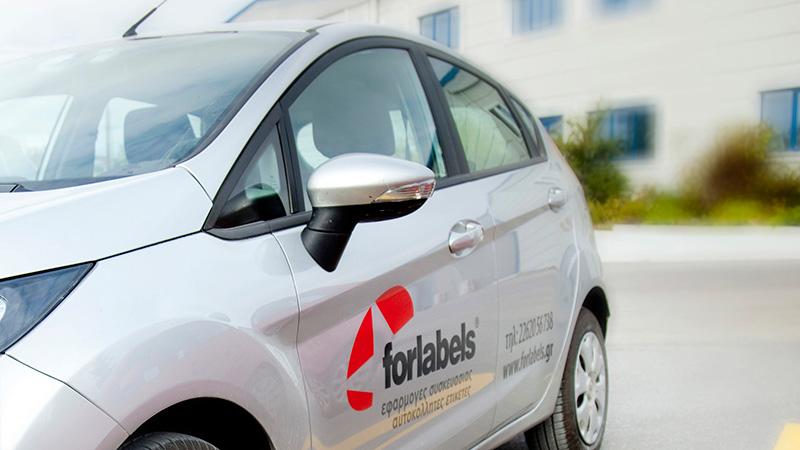 H οργάνωση της Forlabels