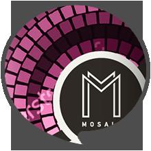 4mosaic ετικετών ροζέ Κρασιών