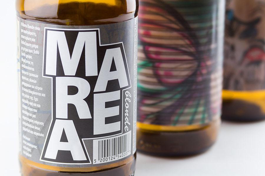 Αυτοκόλλητη ετικέτα - Marea beer