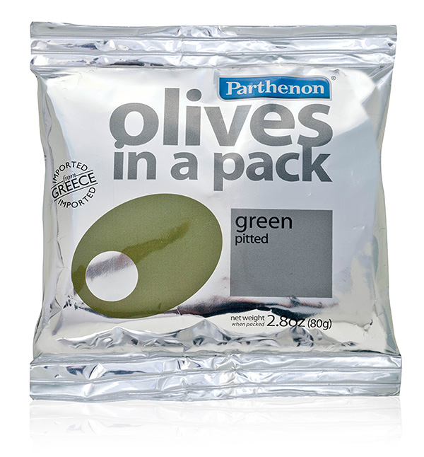 Flexible metalize - «Parthenon» Olives in a pack